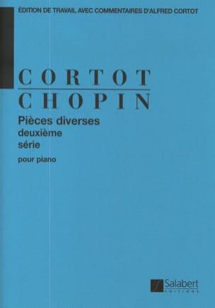 CHOPIN - Pièces Diverses, Volume 2. - Partition - di-arezzo.fr