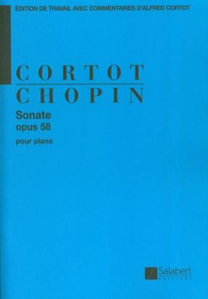 Frédéric Chopin - Sonate en Si mineur Opus 58. - Partition - di-arezzo.fr