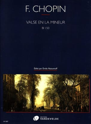 Valse en la mineur - CHOPIN - Partition - Piano - laflutedepan.com