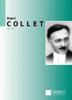 Anthologie Henri Collet Partition Piano - laflutedepan