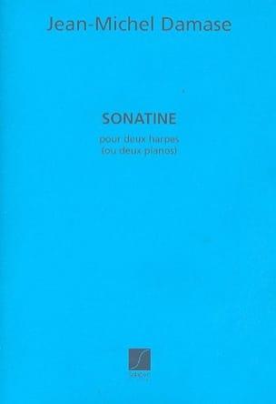 Jean-Michel Damase - Sonatine. 2 Pianos - Partition - di-arezzo.fr