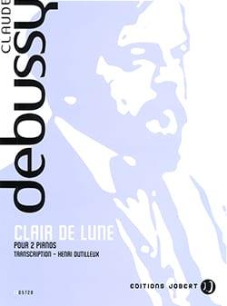 Clair de Lune. 2 Pianos. DEBUSSY Partition Piano - laflutedepan