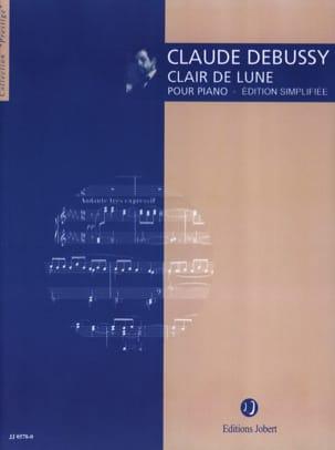 DEBUSSY - Clair de lune (Version simplifiée) - Partition - di-arezzo.fr
