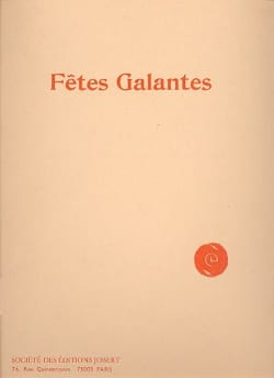 DEBUSSY - Fêtes galantes - Partition - di-arezzo.fr