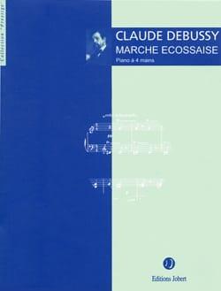 Marche Ecossaise. 4 Mains - DEBUSSY - Partition - laflutedepan.com