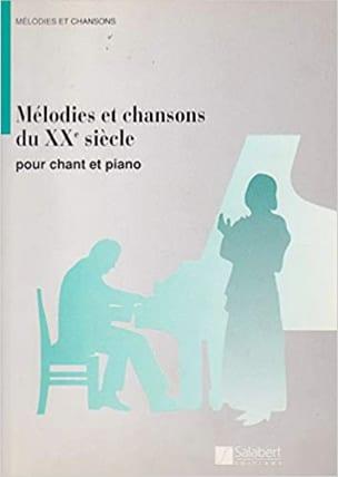 Mélodies et Chansons Du 20ème Siècle - laflutedepan.com
