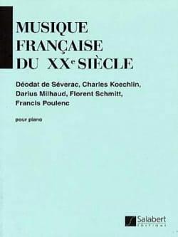 Musique Française Du 20ème Siècle - Partition - di-arezzo.fr