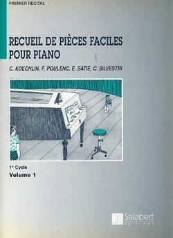 1er Recueil de Pièces Faciles Pour Piano, 2° Cycle - Partition - di-arezzo.fr