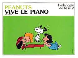 Edison - Peanuts Vive le Piano - Pédagogie de Base 2 - Partition - di-arezzo.fr