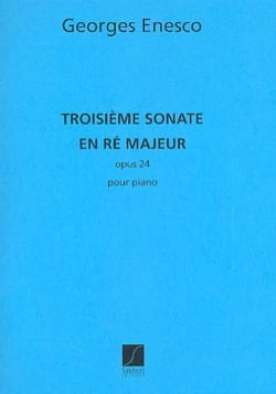 Georges Enesco - Sonata N ° 3 D Major Opus 24. - Sheet Music - di-arezzo.com