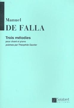 Manuel de Falla - 3メロディー。 - 楽譜 - di-arezzo.jp