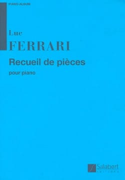 Luc Ferrari - Collection of piano pieces - Sheet Music - di-arezzo.com