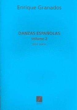 Danses Espagnoles - Volume 2 GRANADOS Partition Piano - laflutedepan