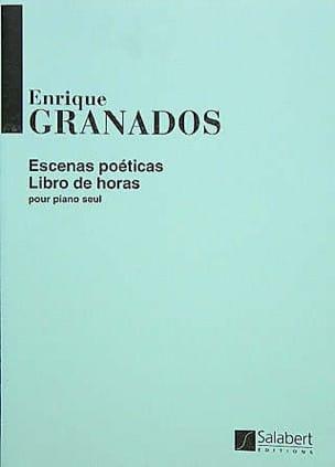 Escenas poeticas, Volume 1 GRANADOS Partition Piano - laflutedepan