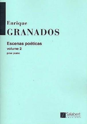 Escenas poeticas, Volume 2 - Enrique Granados - laflutedepan.com