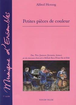 Alfred Herzog - Petites pièces de couleur - Partition - di-arezzo.fr