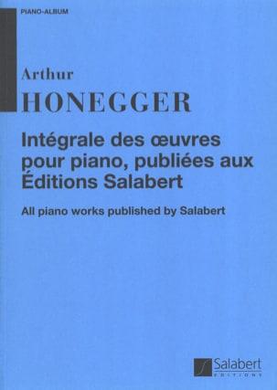 Arthur Honegger - Intégrale Des Oeuvres Editées Chez Salabert - Partition - di-arezzo.fr