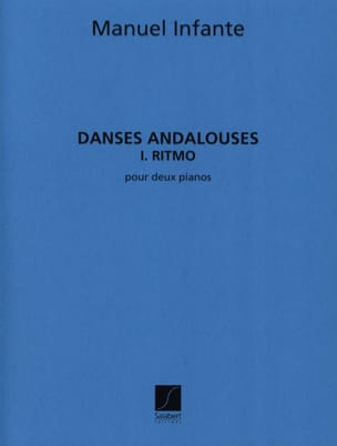 Manuel Infante - Andalusian Dances N ° 1 Ritmo - 2 Pianos - Sheet Music - di-arezzo.com