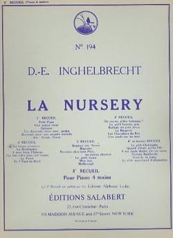 Désiré-Emile Inghelbrecht - Nursery Volume 2 - Piano 4 Mains - Partition - di-arezzo.fr