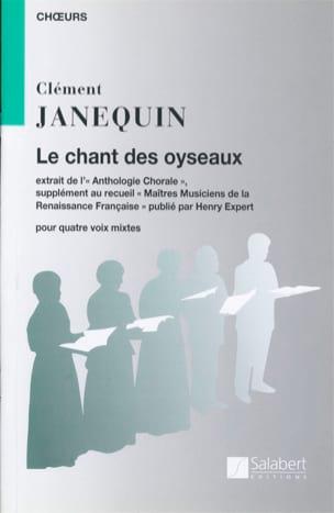 Le Chant des Oiseaux Clément Janequin Partition Chœur - laflutedepan