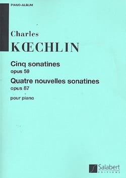 Charles Koechlin - Sonatines et nouvelles sonatines - Partition - di-arezzo.fr