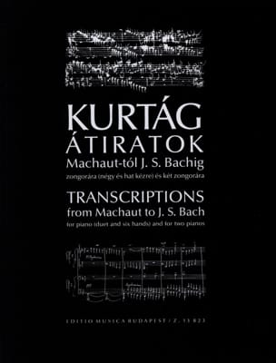 György Kurtag - Transcripts of Machaut A Bach - Sheet Music - di-arezzo.com