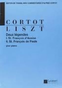 2 Légendes LISZT Partition Piano - laflutedepan