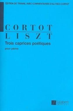 Franz Liszt - 3 Caprices poétiques - Partition - di-arezzo.fr