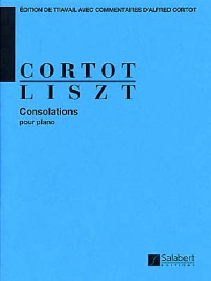 6 Consolations LISZT Partition Piano - laflutedepan