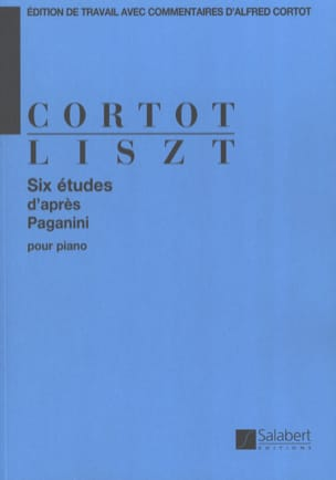 Franz Liszt - 6 Studies according to Paganini - Sheet Music - di-arezzo.co.uk
