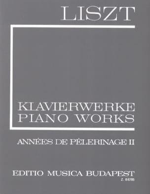 Années de Pélerinage Volume 2 - Série 1, Volume 7 - laflutedepan.com