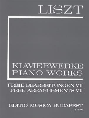 Franz Liszt - Arrangements Divers. (Série 2 Volume 7) - Partition - di-arezzo.fr