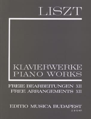 Franz Liszt - Transcriptions Volume 12. (Série 2 Volume 12) - Partition - di-arezzo.fr
