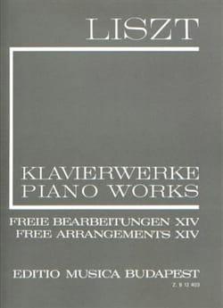 Franz Liszt - Arrangements Divers, Volume 14 (Série 2, Volume 14) - Partition - di-arezzo.fr