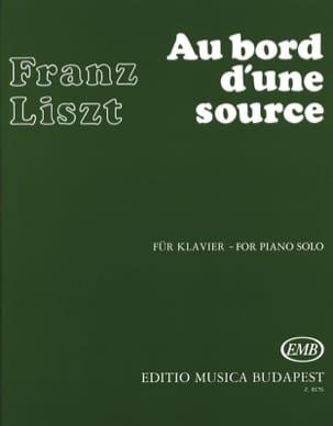 Franz Liszt - Au bord d'une source - Partition - di-arezzo.fr