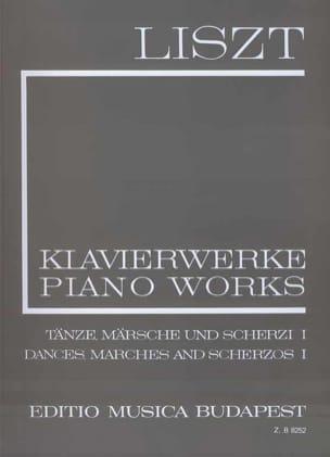 Franz Liszt - Danses, Marches et Scherzos, Volume 1 (Série 1, Volume 13) - Partition - di-arezzo.fr