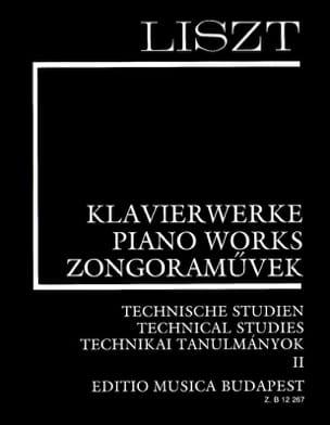 Franz Liszt - Etudes Techniques Volume 2 - Partition - di-arezzo.fr