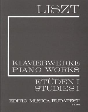 Franz Liszt - Etudes, Volume 1 (Série 1, Volume 1) - Partition - di-arezzo.fr