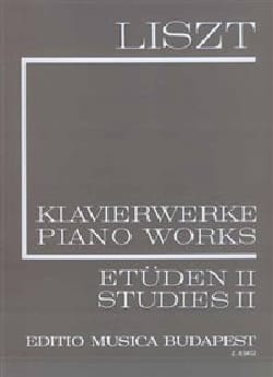 Franz Liszt - Etudes, Volume 2 Série 1, Volume 2 - Partition - di-arezzo.fr