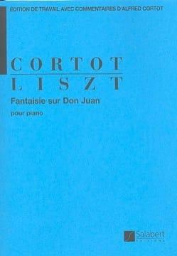 Franz Liszt - Fantaisie sur Don Juan - Partition - di-arezzo.fr