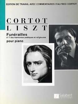 Funérailles - Franz Liszt - Partition - Piano - laflutedepan.com