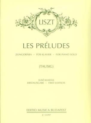 Franz Liszt - Les Préludes - Partition - di-arezzo.fr