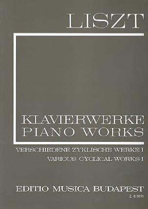 Franz Liszt - Œuvres diverses Cycle, Volume 1 Série 1, Volume 9 - Partition - di-arezzo.fr