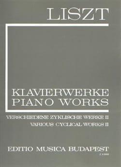 Franz Liszt - Œuvres diverses Cycle, Volume 2 Série 1, Volume 10 - Partition - di-arezzo.fr