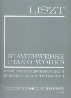 Franz Liszt - Pièces Caractéristiques Volume 1 (Série 1, Volume 11) - Partition - di-arezzo.fr