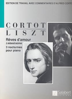 Rêves D'amour. LISZT Partition Piano - laflutedepan