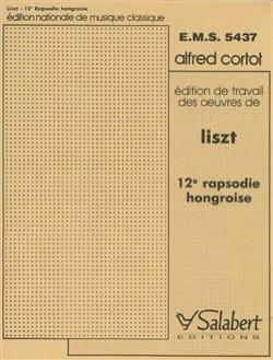 Rhapsodie hongroise N° 12     - laflutedepan.com