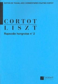 Rhapsodie Hongroise N° 2. Franz Liszt Partition Piano - laflutedepan