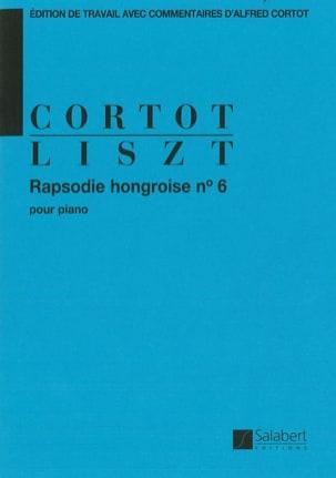 Rhapsodie hongroise N° 6 - LISZT - Partition - laflutedepan.com