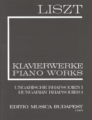 Franz Liszt - Rhapsodies hongroises, Volume 1 (Série 1, Volume 3) - Partition - di-arezzo.fr